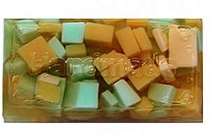 Floating Pieces Olive Oil Soap bath product